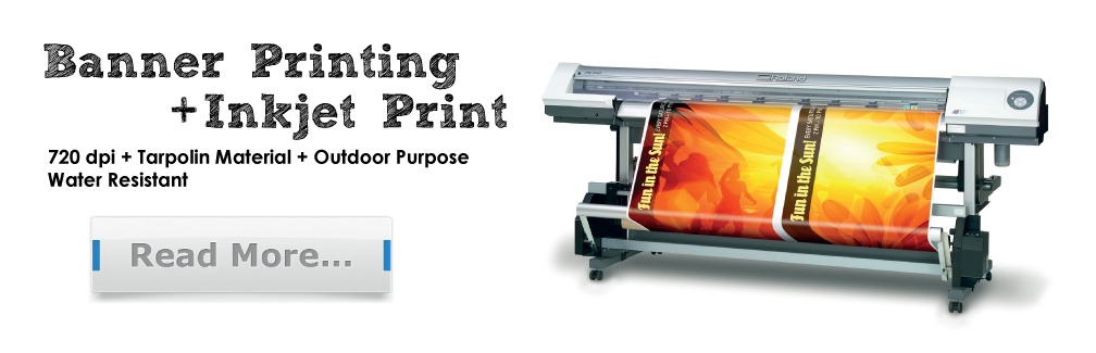 Banner Printing Services in Malaysia
