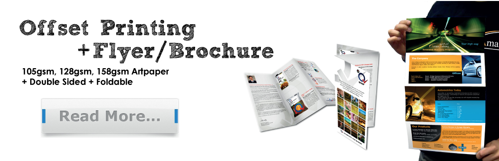 Business Flyer Printing Services in Malaysia